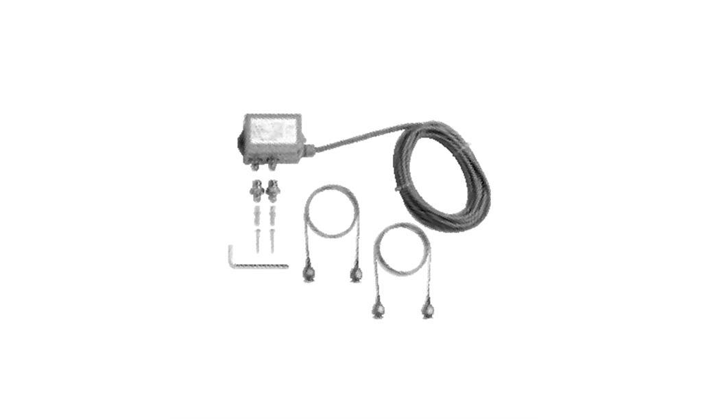 DP-T3E/25 differential pressure sensor, complete
