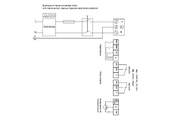 Схема подключений насосов MAGNA3 D 40-60 F