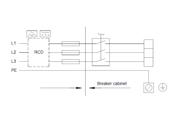 Схема подключений насосов HYDRO MULTI-E 3 CME5-05
