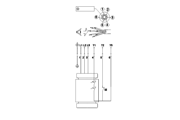 Схема подключений насосов SL1.50.65.22.2.50D.C
