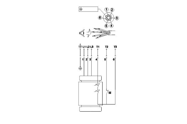 Схема подключений насосов SL1.80.100.22.EX.4.50D.C