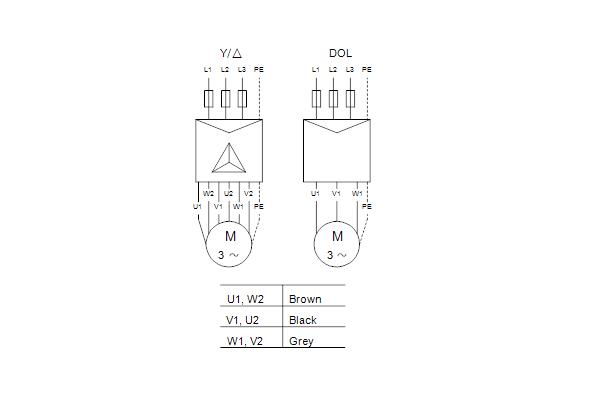 Схема подключений насосов SP 9-56