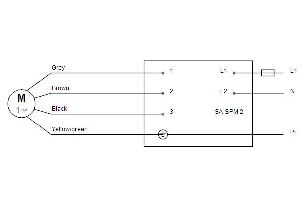Схема подключений насосов SP 11-3