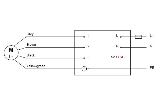 Схема подключений насосов SP 11-7