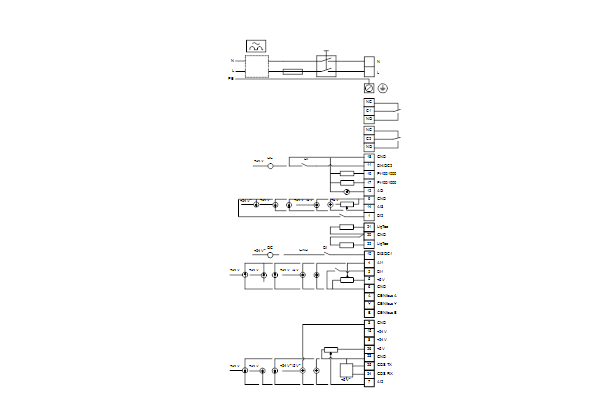 Схема подключений насосов Hydro Solo E CRE 1-6 HQQE