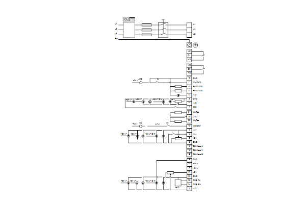 Схема подключений насосов NBE 32-250/244 A-F2-A-E-BAQE