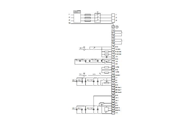 Схема подключений насосов NBE 40-250/211 A-F2-A-E-BQQE