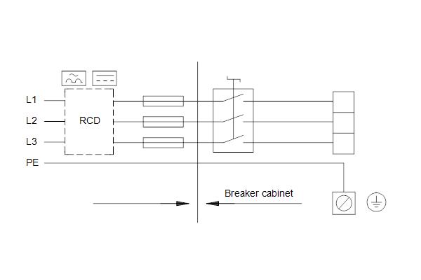 Схема подключений насосов HYDRO MULTI-E 4 CRE15-4