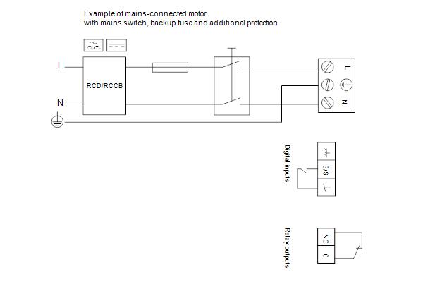 Схема подключений насосов MAGNA1 D 32-120 F